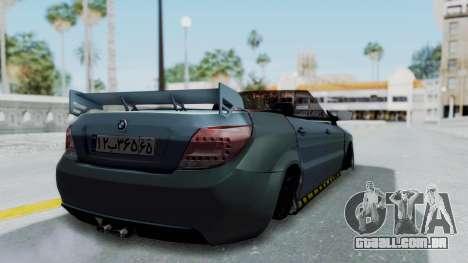 Ikco Dena Tuning para GTA San Andreas esquerda vista