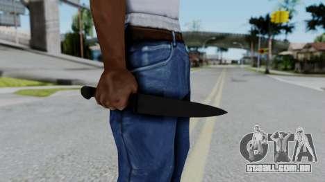 No More Room in Hell - Kitchen Knife para GTA San Andreas