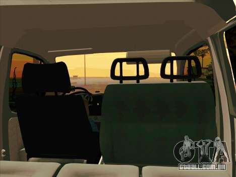GAZ 33023 NORD para GTA San Andreas vista direita