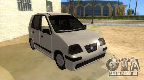 Hyundai Atos 2006 para GTA San Andreas vista traseira
