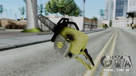 No More Room in Hell - Chainsaw para GTA San Andreas segunda tela