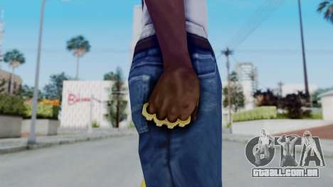 The Hustler Knuckle Dusters from Ill GG Part 2 para GTA San Andreas terceira tela