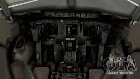 Boeing 737-800 Business Jet Indian Air Force para GTA San Andreas vista direita