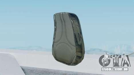 Arma 2 Czech Pouch Backpack para GTA San Andreas terceira tela