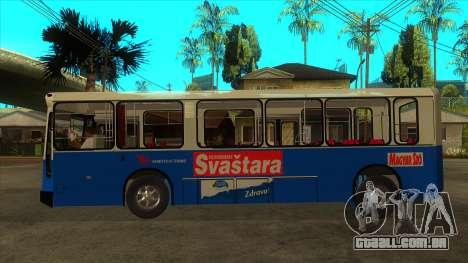 Ikarbus - Subotica trans para GTA San Andreas esquerda vista