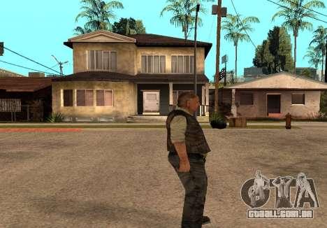 Sidorovich do S. T. A. L. K. E. R para GTA San Andreas segunda tela