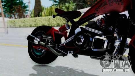 Turbike 3.0 para GTA San Andreas vista direita