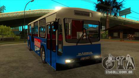 Ikarbus - Subotica trans para GTA San Andreas vista traseira
