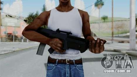 GTA 5 Advanced Rifle para GTA San Andreas terceira tela