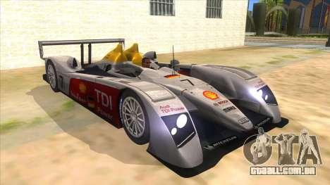 Audi R10 para GTA San Andreas vista traseira