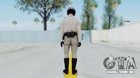 GTA 5 Cop-Biker para GTA San Andreas terceira tela