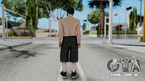 Skin Random 1 from GTA 5 Online para GTA San Andreas terceira tela