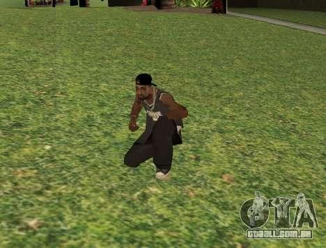Black fam3 para GTA San Andreas terceira tela