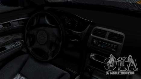 Nissan Silvia S14 Stance para GTA San Andreas vista traseira