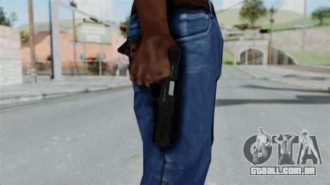 GTA 5 AP Pistol para GTA San Andreas terceira tela