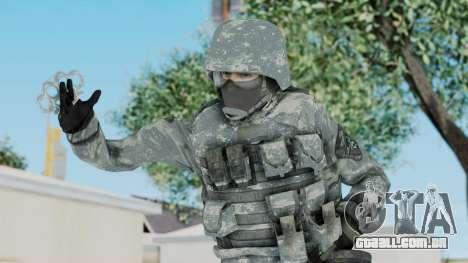 Acu Soldier 5 para GTA San Andreas