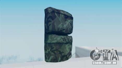 Arma 2 New Backpack para GTA San Andreas segunda tela