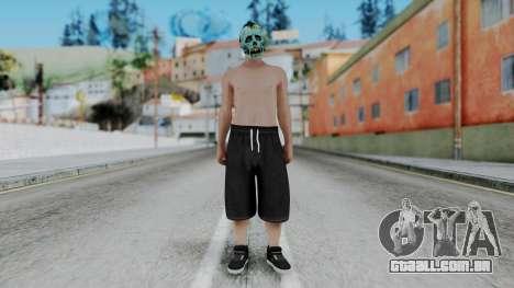 Skin Random 1 from GTA 5 Online para GTA San Andreas segunda tela