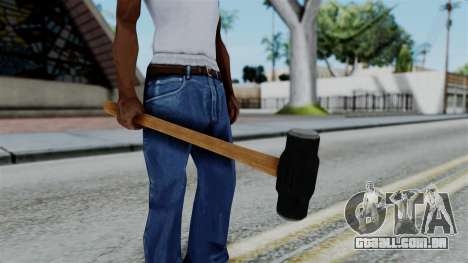 No More Room in Hell - Sledgehammer para GTA San Andreas terceira tela