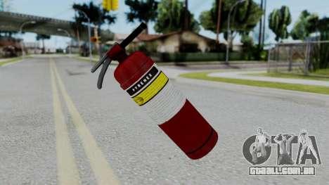 No More Room in Hell - Fire Extingusher para GTA San Andreas segunda tela