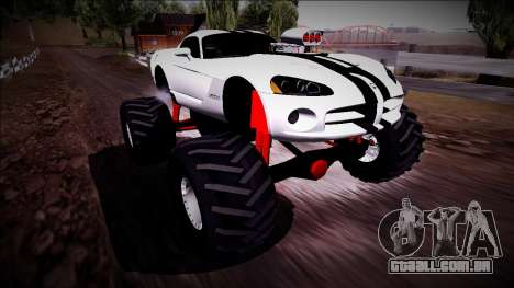 Dodge Viper SRT10 Monster Truck para GTA San Andreas