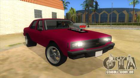 1984 Chevrolet Impala Drag para GTA San Andreas vista traseira
