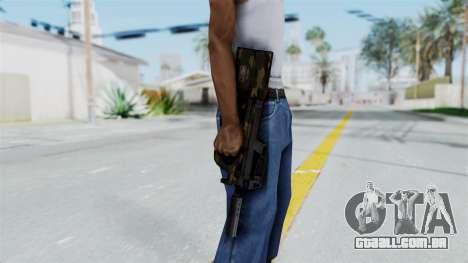 P90 Camo1 para GTA San Andreas terceira tela