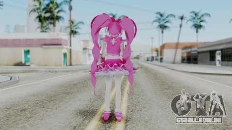 Sweet Precure Cure Melody para GTA San Andreas terceira tela
