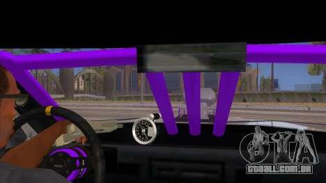 Stretch Sedan Drag para GTA San Andreas vista interior