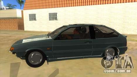 VAZ 2113 shifter para GTA San Andreas esquerda vista