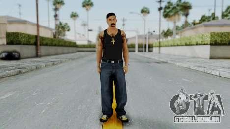 GTA 5 Mexican Goon 2 para GTA San Andreas segunda tela
