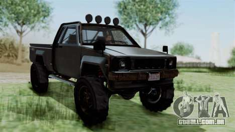 GTA 5 Karin Rebel 4x4 Worn IVF para GTA San Andreas