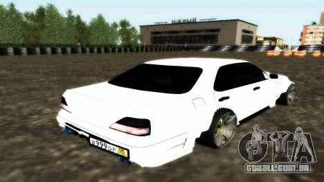 Nissan Cedric WideBody para GTA San Andreas vista traseira