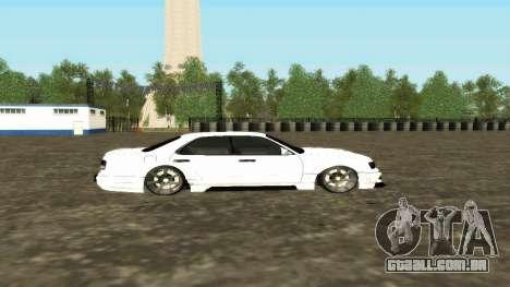 Nissan Cedric WideBody para GTA San Andreas vista interior