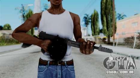 GTA 5 Gusenberg Sweeper - Misterix 4 Weapons para GTA San Andreas terceira tela