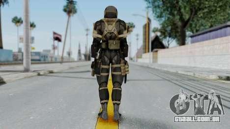 Frog from Metal Gear Solid 4 para GTA San Andreas terceira tela