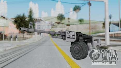 GTA 5 MG - Misterix 4 Weapons para GTA San Andreas