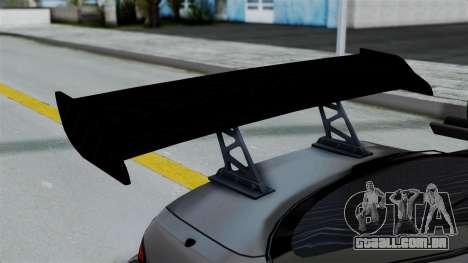 Nissan Silvia S14 Stance para GTA San Andreas vista interior