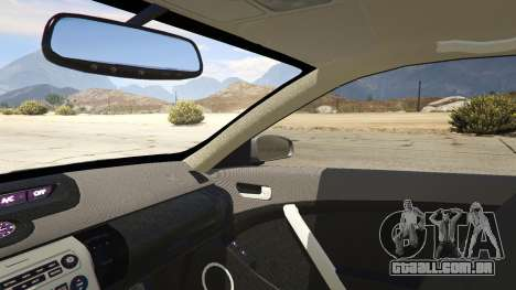 GTA 5 Infiniti G35 vista lateral direita
