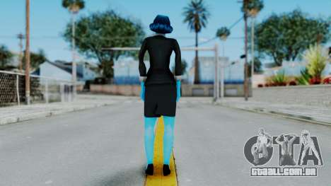 Bully Insanity Edition - Miss Danvers para GTA San Andreas terceira tela
