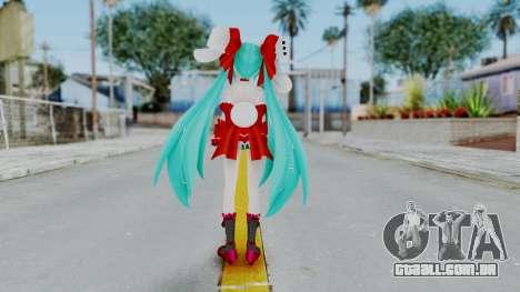 Hatsune Miku (Rabbit Girl) para GTA San Andreas terceira tela