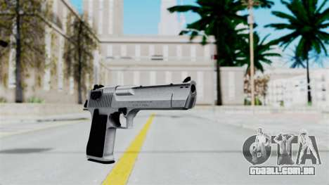 Pouxs Desert Eagle v2 Chrome para GTA San Andreas segunda tela