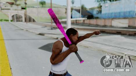 GTA 5 Baseball Bat 4 para GTA San Andreas terceira tela