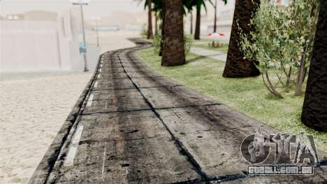 New Beach Textures para GTA San Andreas terceira tela