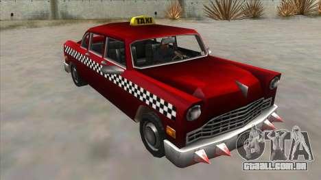 GTA3 Borgnine Cab para GTA San Andreas