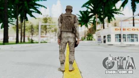 Crysis 2 US Soldier 5 Bodygroup A para GTA San Andreas terceira tela
