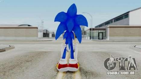 Sonic The Hedgehog 2006 para GTA San Andreas terceira tela
