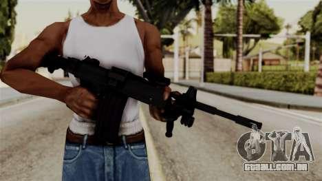 IMI Negev NG-7 para GTA San Andreas terceira tela