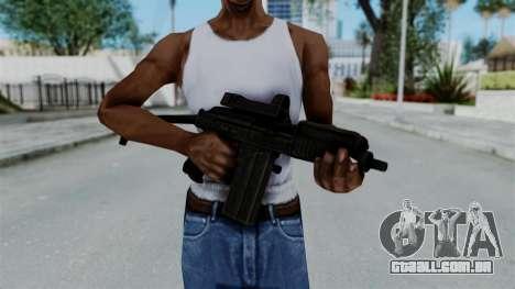 9A-91 Kobra para GTA San Andreas terceira tela