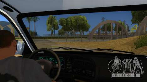 Honda Accord Sedan 1997 para GTA San Andreas vista interior